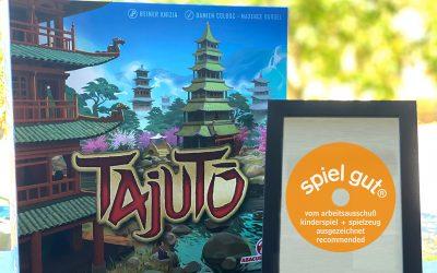 """Tajuto wurde mit """"spiel gut"""" ausgezeichnet"""
