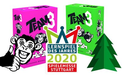 TEAM3 gewinnt den Lernspielpreis 2020
