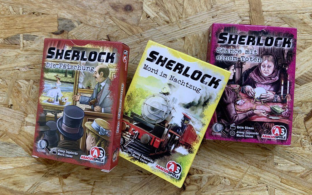 Sherlock ist da!